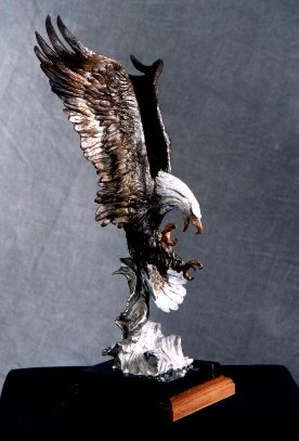 Drago International Large View Fire Amp Ice Bald Eagle